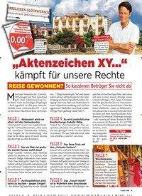 """Titelbild der Ausgabe 12/2019 von """"Aktenzeichen XY…"""" kämpft für unsere Rechte. Zeitschriften als Abo oder epaper bei United Kiosk online kaufen."""