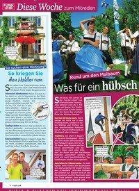 Titelbild der Ausgabe 17/2019 von Rund um den Maibaum: Was für ein hübsch er Tanz!. Zeitschriften als Abo oder epaper bei United Kiosk online kaufen.