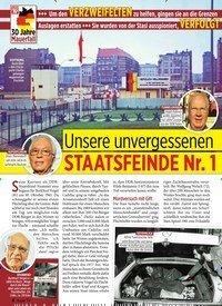 Titelbild der Ausgabe 36/2019 von Unsere unvergessenen FLUCHTHELFER STAATSFEINDE Nr. 1 in der DDR. Zeitschriften als Abo oder epaper bei United Kiosk online kaufen.
