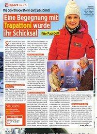 Titelbild der Ausgabe 44/2019 von Sport im TV: Eine Begegnung mit Trapattoni wurde ihr Schicksal. Zeitschriften als Abo oder epaper bei United Kiosk online kaufen.