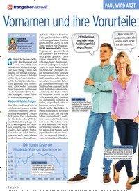Titelbild der Ausgabe 5/2020 von PAUL WIRD ARZT, KEVIN EIN PROBLEM?: Vornamen und ihre Vorurteile – das ist wirklich dran. Zeitschriften als Abo oder epaper bei United Kiosk online kaufen.