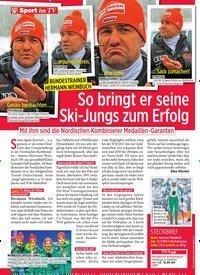 Titelbild der Ausgabe 5/2020 von BUNDESTRAINER HERMANN WEINBUCH: So bringt er seine Ski-Jungs zum Erfolg. Zeitschriften als Abo oder epaper bei United Kiosk online kaufen.