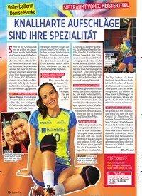 Titelbild der Ausgabe 13/2020 von KNALLHARTE AUFSCHLÄGE SIND IHRE SPEZIALITÄT. Zeitschriften als Abo oder epaper bei United Kiosk online kaufen.