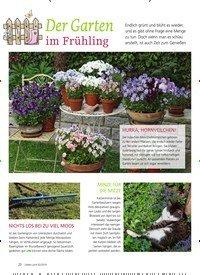 Titelbild der Ausgabe 2/2019 von Der Garten im Frühling. Zeitschriften als Abo oder epaper bei United Kiosk online kaufen.