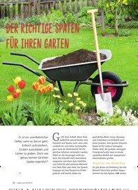 Titelbild der Ausgabe 2/2019 von DER RICHTIGE SPATEN FÜR IHREN GARTEN. Zeitschriften als Abo oder epaper bei United Kiosk online kaufen.