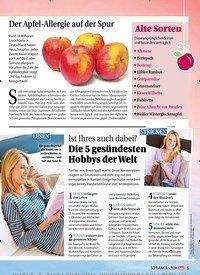 Titelbild der Ausgabe 1/2019 von Ist Ihres auch dabei?: Die 5 gesündesten Hobbys der Welt. Zeitschriften als Abo oder epaper bei United Kiosk online kaufen.