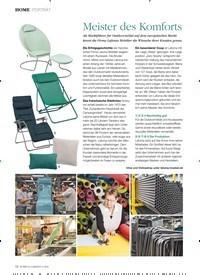Titelbild der Ausgabe 2/2020 von HOME: Meister des Komforts. Zeitschriften als Abo oder epaper bei United Kiosk online kaufen.