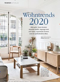 Titelbild der Ausgabe 2/2020 von Wohntrends 2020. Zeitschriften als Abo oder epaper bei United Kiosk online kaufen.