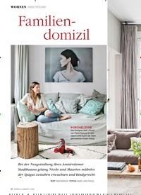 Titelbild der Ausgabe 2/2020 von Familiendomizil. Zeitschriften als Abo oder epaper bei United Kiosk online kaufen.