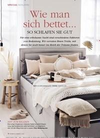 Titelbild der Ausgabe 1/2021 von SCHLAFEN: Wie mansich bettet… SO SCHLAFEN SIE GUT. Zeitschriften als Abo oder epaper bei United Kiosk online kaufen.