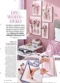 Titelbild der Ausgabe 5/2018 von WOHNEN DEKO: DIY-WOHNDEKO. Zeitschriften als Abo oder epaper bei United Kiosk online kaufen.