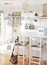 Titelbild der Ausgabe 2/2019 von WOHNEN: REPORTAGE: Wohnglück GANZ IN WEISS. Zeitschriften als Abo oder epaper bei United Kiosk online kaufen.