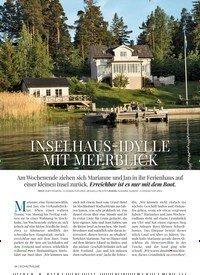 Titelbild der Ausgabe 5/2018 von SCHWEDEN STOCKHOLM: INSELHAUS-IDYLLE MIT MEERBLICK. Zeitschriften als Abo oder epaper bei United Kiosk online kaufen.