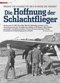 Titelbild der Ausgabe 9/2019 von Fw 190: BRINGT DIE STARKE FW 190 F-8 NOCH DIE WENDE? Die Hoffnung der Schlachtflieger. Zeitschriften als Abo oder epaper bei United Kiosk online kaufen.