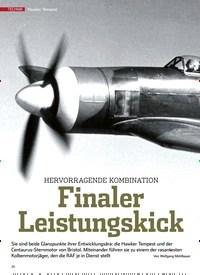 Titelbild der Ausgabe 9/2019 von Hawker Tempes: HERVORRAGENDE KOMBINATION Finaler Leistungskick. Zeitschriften als Abo oder epaper bei United Kiosk online kaufen.