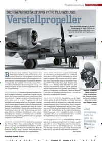 Titelbild der Ausgabe 9/2019 von Propellerentwicklung: DIE GANGSCHALTUNG FÜR FLUGZEUGE Verstellpropeller. Zeitschriften als Abo oder epaper bei United Kiosk online kaufen.