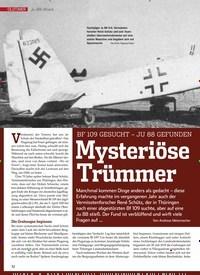 Titelbild der Ausgabe 9/2019 von Ju-88-Wrack: 109 GESUCHT – JU 88 GEFUNDEN Mysteriöse Trümmer. Zeitschriften als Abo oder epaper bei United Kiosk online kaufen.