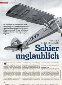 Titelbild der Ausgabe 9/2019 von FIESELER FI 156 »STORCH« Schier unglaublich. Zeitschriften als Abo oder epaper bei United Kiosk online kaufen.