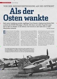 Titelbild der Ausgabe 10/2019 von Ernst Stengl:Als der Osten wankte. Zeitschriften als Abo oder epaper bei United Kiosk online kaufen.