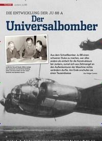 Titelbild der Ausgabe 11/2019 von Junkers Ju 88: Der Universalbomber. Zeitschriften als Abo oder epaper bei United Kiosk online kaufen.