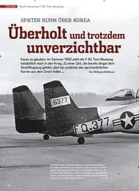 Titelbild der Ausgabe 11/2019 von North American F-82 Twin win Mustang: Überholt und trotzdem unverzichtbar. Zeitschriften als Abo oder epaper bei United Kiosk online kaufen.