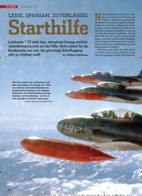 Titelbild der Ausgabe 11/2019 von Lockheed ockheed T-33: Starthilfe. Zeitschriften als Abo oder epaper bei United Kiosk online kaufen.