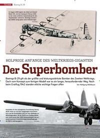 Titelbild der Ausgabe 1/2020 von Boeing B-29: HOLPRIGE ANFÄNGE DES WELTKRIEGS-GIGANTEN: Der Superbomber. Zeitschriften als Abo oder epaper bei United Kiosk online kaufen.