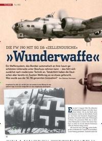 Titelbild der Ausgabe 1/2020 von Fw 190: DIE FW 190 MIT SG 116 »ZELLENDUSCHE«: »Wunderwaffe« gegen US-Bomber?. Zeitschriften als Abo oder epaper bei United Kiosk online kaufen.