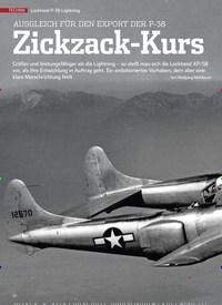 Titelbild der Ausgabe 2/2020 von AUSGLEICH FÜR DEN EXPORT DER P-38 Zickzack-Kurs. Zeitschriften als Abo oder epaper bei United Kiosk online kaufen.