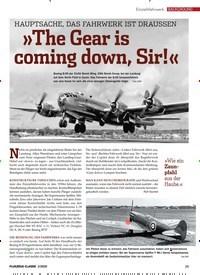 Titelbild der Ausgabe 2/2020 von HAUPTSACHE, DAS FAHRWERK IST DRAUSSEN: »The Gear is coming down, Sir!«. Zeitschriften als Abo oder epaper bei United Kiosk online kaufen.