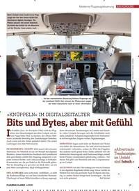 Titelbild der Ausgabe 4/2020 von BACKGROUND: Moderne Flugzeugsteuerung: Bits und Bytes, aber mit Gefühl. Zeitschriften als Abo oder epaper bei United Kiosk online kaufen.