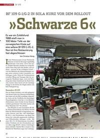Titelbild der Ausgabe 4/2020 von Bf 109: »Schwarze 6« im Netz. Zeitschriften als Abo oder epaper bei United Kiosk online kaufen.