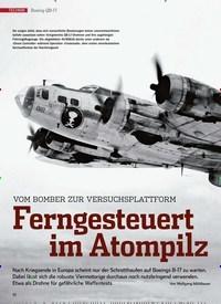 Titelbild der Ausgabe 4/2020 von Boeing QB-17: Ferngesteuert im Atompilz. Zeitschriften als Abo oder epaper bei United Kiosk online kaufen.