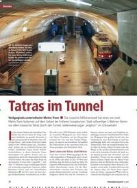 Titelbild der Ausgabe 9/2019 von Betriebe: Tatras im Tunnel. Zeitschriften als Abo oder epaper bei United Kiosk online kaufen.