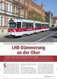 Titelbild der Ausgabe 10/2019 von LHB-Dämmerung an der Oker. Zeitschriften als Abo oder epaper bei United Kiosk online kaufen.