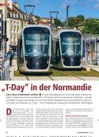 """Titelbild der Ausgabe 10/2019 von """"T-Day"""" in der Normandie. Zeitschriften als Abo oder epaper bei United Kiosk online kaufen."""