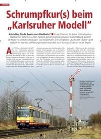 """Titelbild der Ausgabe 1/2020 von Schrumpfkur(s) beim """"Karlsruher Modell"""". Zeitschriften als Abo oder epaper bei United Kiosk online kaufen."""
