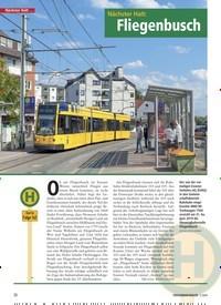 Titelbild der Ausgabe 1/2020 von Nächster Halt: Fliegenbusch. Zeitschriften als Abo oder epaper bei United Kiosk online kaufen.
