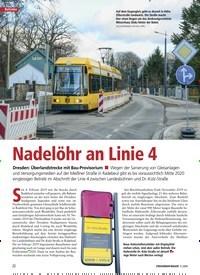 Titelbild der Ausgabe 3/2020 von Nadelöhr an Linie 4. Zeitschriften als Abo oder epaper bei United Kiosk online kaufen.