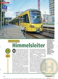 Titelbild der Ausgabe 3/2020 von Nächster Halt: … Nächster Halt: Himmelsleiter. Zeitschriften als Abo oder epaper bei United Kiosk online kaufen.