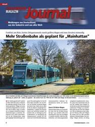 """Titelbild der Ausgabe 4/2020 von Aktuell: Deutschland: STRASSENBAHN MAGAZIN Journal: Mehr Straßenbahn als geplant für """"Mainhattan"""". Zeitschriften als Abo oder epaper bei United Kiosk online kaufen."""