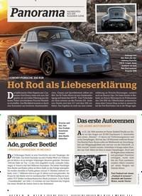 Titelbild der Ausgabe 7/2019 von Panorama: Hot Rod als Liebeserklärung. Zeitschriften als Abo oder epaper bei United Kiosk online kaufen.