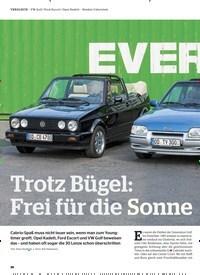 Titelbild der Ausgabe 7/2019 von Trotz Bügel: Frei für die Sonne. Zeitschriften als Abo oder epaper bei United Kiosk online kaufen.