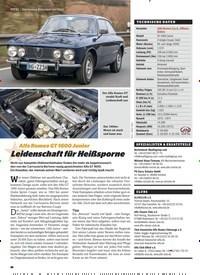 Titelbild der Ausgabe 1/2020 von Alfa Romeo GT 1600 Junior: Leidenschaft für Heißsporne. Zeitschriften als Abo oder epaper bei United Kiosk online kaufen.