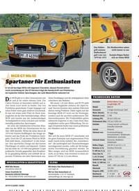 Titelbild der Ausgabe 1/2020 von MGB GT Mk III: Spartaner für Enthusiasten. Zeitschriften als Abo oder epaper bei United Kiosk online kaufen.