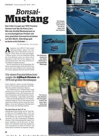 Titelbild der Ausgabe 2/2020 von PORTRAIT: Toyota Celica ST (1970-1977): Bonsai- Mustang. Zeitschriften als Abo oder epaper bei United Kiosk online kaufen.