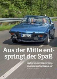 Titelbild der Ausgabe 2/2020 von VERGLEICH: Fiat X1/ 9 vs. Porsche 914/4: Aus der Mitte entspringt der Spaß. Zeitschriften als Abo oder epaper bei United Kiosk online kaufen.
