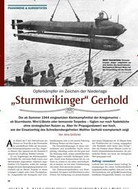 """Titelbild der Ausgabe 2/2020 von """"Sturmwikinger"""" Gerhold. Zeitschriften als Abo oder epaper bei United Kiosk online kaufen."""