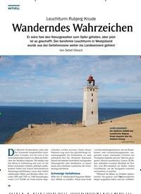 Titelbild der Ausgabe 2/2020 von Leuchtturm Rubjerg Knude: Wanderndes Wahrzeichen. Zeitschriften als Abo oder epaper bei United Kiosk online kaufen.