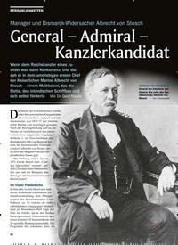 Titelbild der Ausgabe 3/2020 von Manager und Bismarck-Widersacher Albrecht von Stosch: General - Admiral - Kanzlerkandidat. Zeitschriften als Abo oder epaper bei United Kiosk online kaufen.